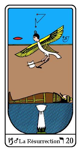 Tarot, Tarot - Arcane N°20, Tarot Égyptien