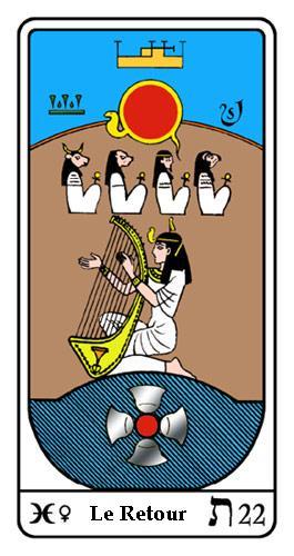 Tarot, Tarot - Arcane N°22, Tarot Égyptien