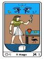 Tarocco, L'Arcano N 1, Tarocco Egiziano