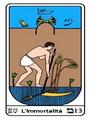 Tarocco, L'Arcano N 13, Tarocco Egiziano