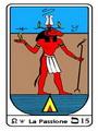 Tarocco, L'Arcano N 15 Tarocco Egiziano
