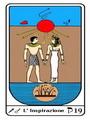 Tarocco, L'Arcano N 19 Tarocco Egiziano