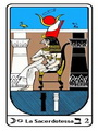 Tarocco, L'Arcano N 2, Tarocco Egiziano