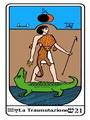 Tarocco, L'Arcano N 21 Tarocco Egiziano