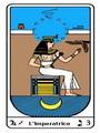 Tarocco, L'Arcano N 3, Tarocco Egiziano