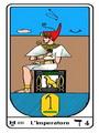 Tarocco, L'Arcano N 4, Tarocco Egiziano