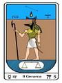 Tarocco, L'Arcano N 5, Tarocco Egiziano