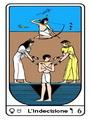 Tarocco, L'Arcano N 6, Tarocco Egiziano