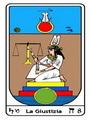 Tarocco, L'Arcano N 8, Tarocco Egiziano