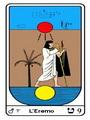Tarocco, L'Arcano N 9, Tarocco Egiziano