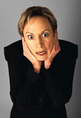 Žena sa napadom stresa