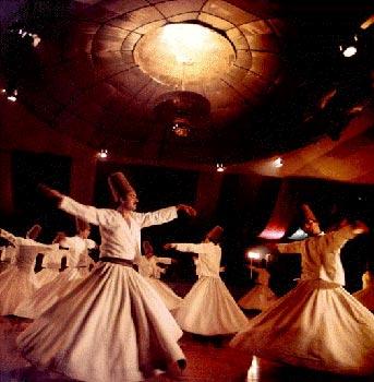Derviši plesači, sakralni plesovi, Kult Vatre
