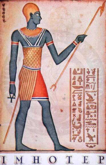 Imhotep, Stub Nauka