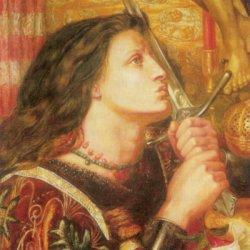 Jovanka Orleanka- naslikao je Dante Gabriel Rosetti