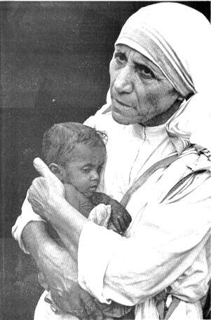 Мајка Тереза, часна сестра и мисионар (1910-1997)