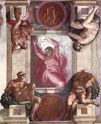 Michelangelo - Prima zi a Creaţiei (Artă Obiectivă)