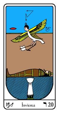 Tarot, Arcanul Nr.20 al Tarotului, Tarotul Egiptean, Învierea