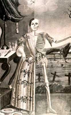 Mort, moarte, corp fizic, personalitate