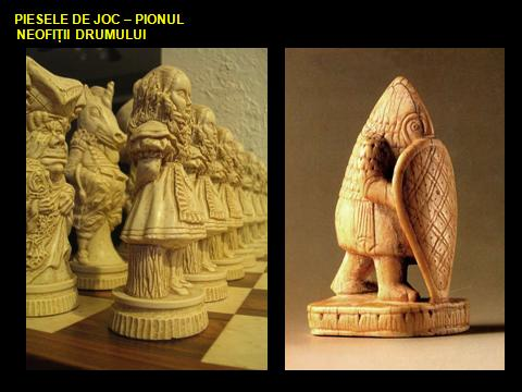 CHESS - the symbolism of the game of Chess, PIONII
