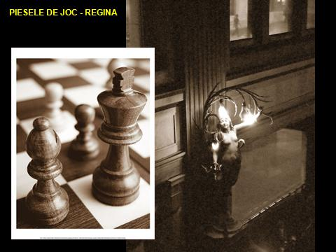 CHESS - the symbolism of the game of Chess, Regina