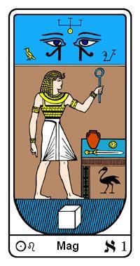 Arkanum br.1, Egipatski Tarot, Samael Aun Weor