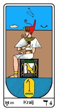 Arkanum br.4, Egipatski Tarot, Samael Aun Weor