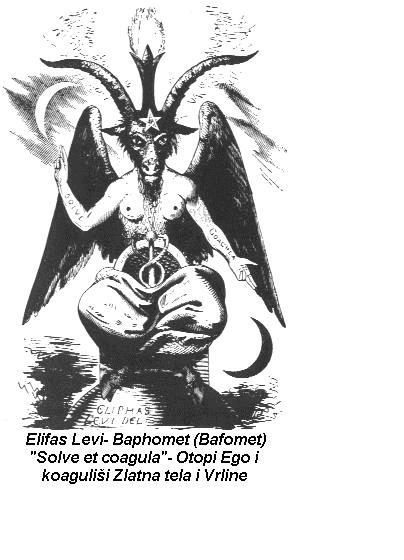 Bafomet, Elifas Levi