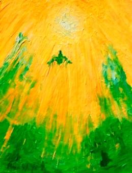 Mistička  levitacija, Elena Ghita, Leteći ka Svetlosti