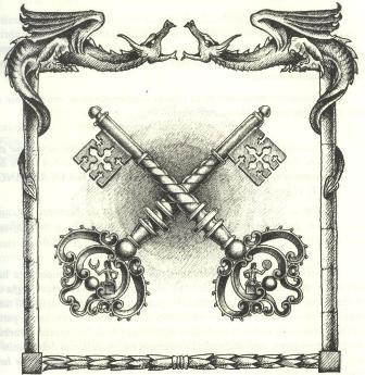 Ključevi, sv. Petra, zlatni,srebrni