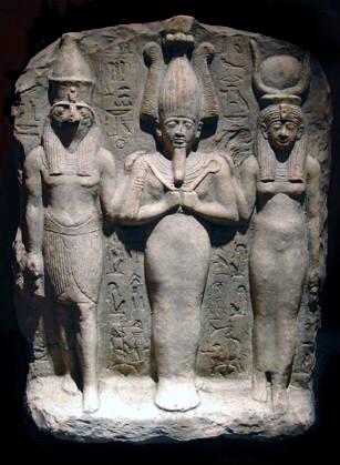 Osiris, Isis, Horus