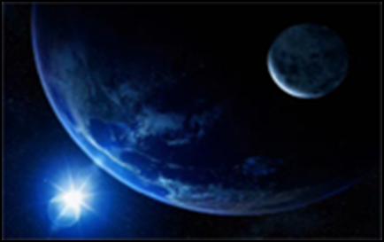 Karl Sagan, Bledo-plava tačka