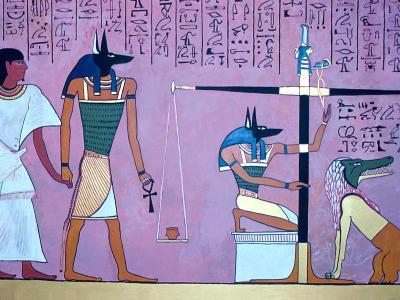Veliki Zakon, Anubis, Sudstvo, Maat