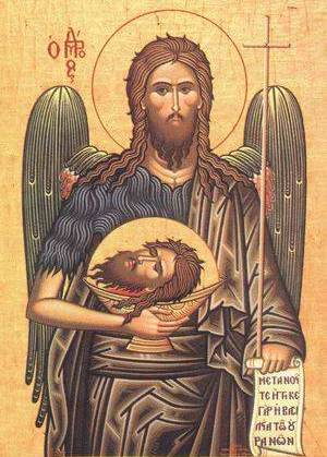 Sveti Jovan Krstitelj, dekapitacija, Apokalipsa