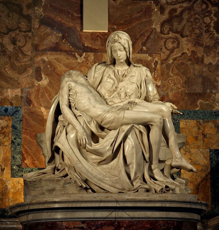 Michelangelo-pieta, Gnoza i Hrišćanstvo