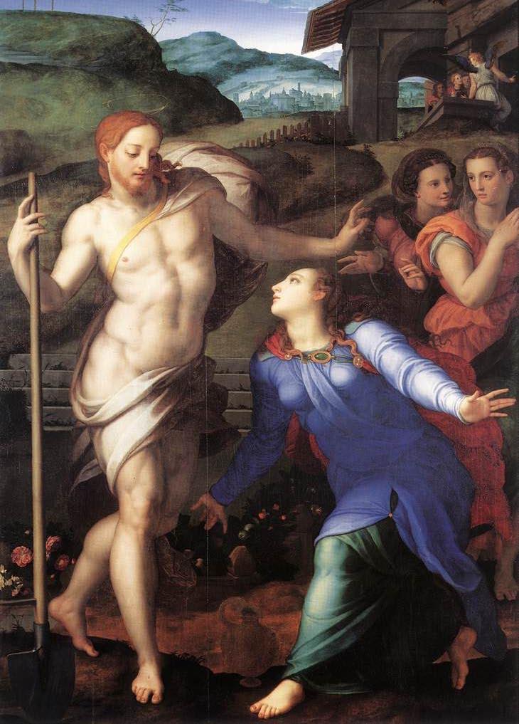 Noli me tangere Agnolo Bronzino (1561)