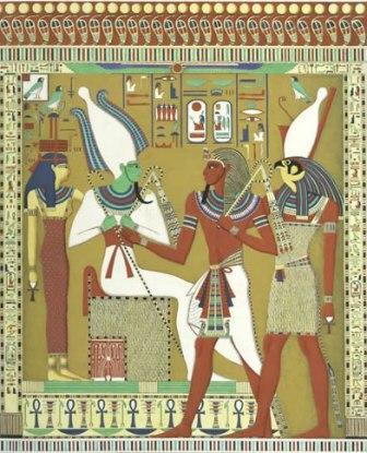 Osiris, Isis i Horus