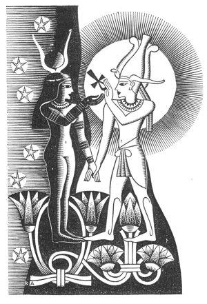 Muško– ženska priroda Boga, Osiris-Isis