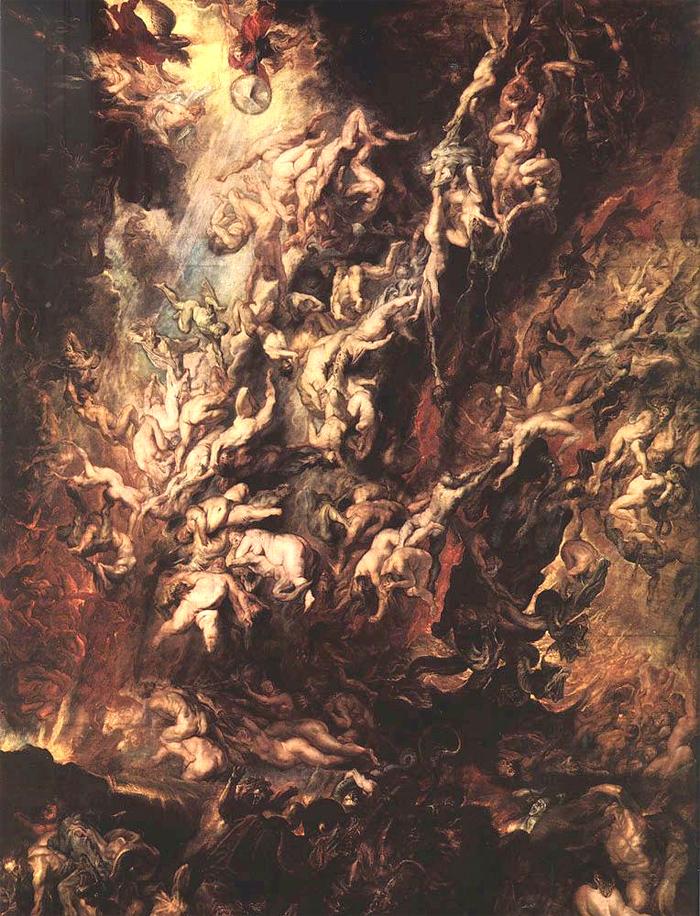 Gnoza, Eskatologija, Pakao, Rubens