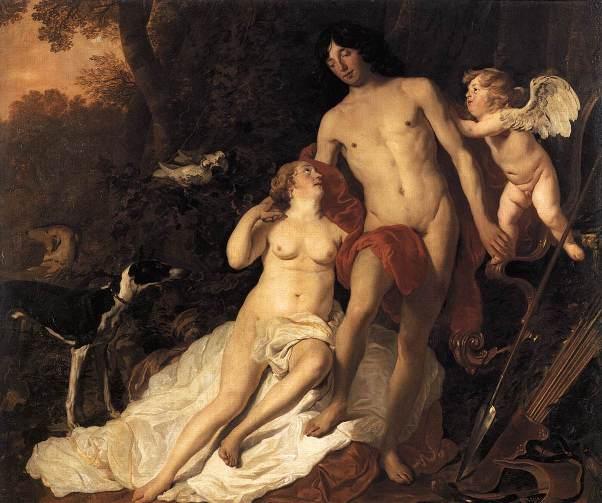 Alhemisko Rađanje, Venera i Adonis