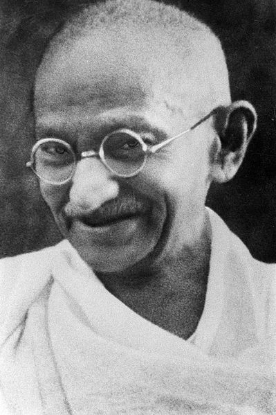 Mahatma Gandhi_ahimsa