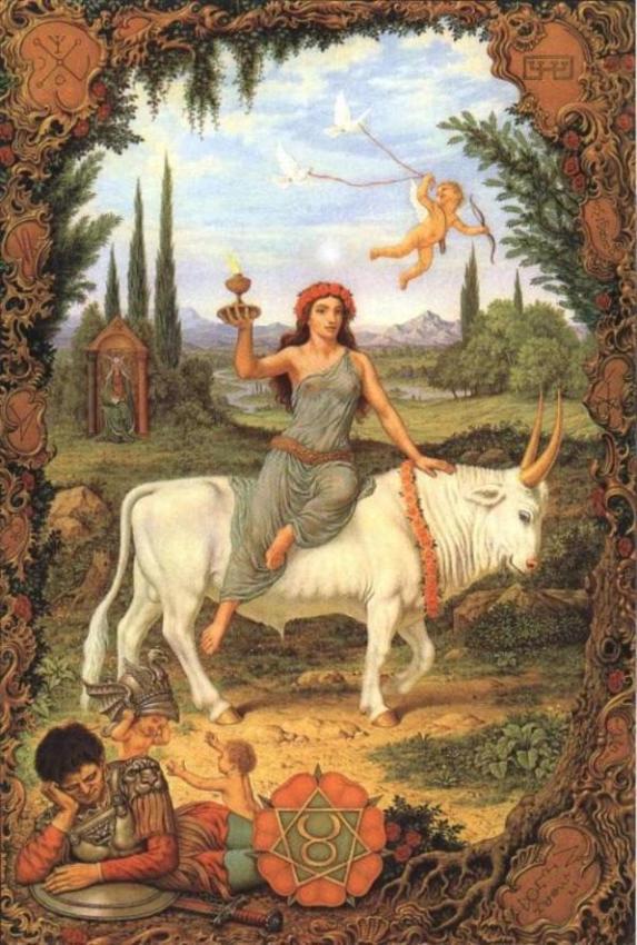 Zodijak - Slika Znaka Bik, Zodijak - Slika Znaka bika, Ermetički Zodijak Jofra Boshart (Johfra Bosschart)