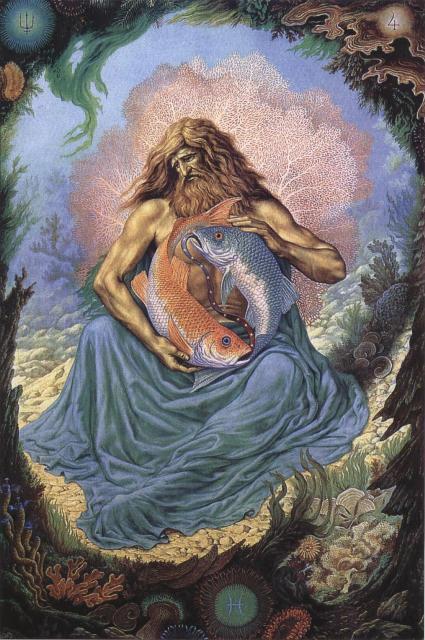 Zodijak- Slika Znaka Ribe, Johfra Bosschart