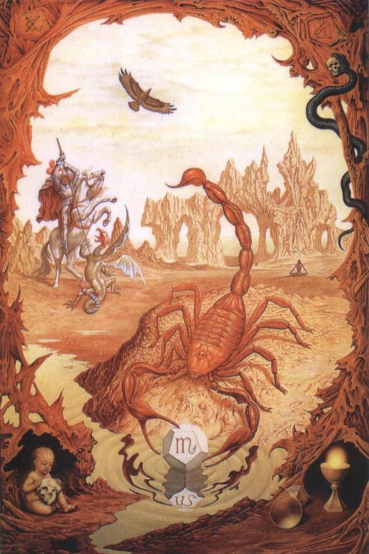 Zodijak- Slika Zodije Škorpija
